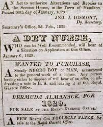 history of black friday slavery bermuda slave history slavery in bermuda adverts history bernews