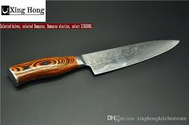 damascus steel kitchen knives 2017 xinghong 8 inch chef knife vg10 damascus steel kitchen