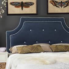 Blue Upholstered Headboard Upholstered Headboards Under 300 That Will Transform Your Bedroom
