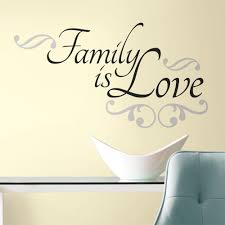 create your own photo wall gallery with custom wall decals family quote wall decal