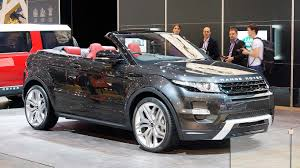 range rover back revealed 2016 range rover evoque convertible is world u0027s first