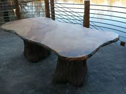 Concrete Patio Tables And Benches Concrete Patio Table Hometalk