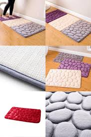 Bathroom Memory Foam Rugs Visit To Buy Coral Fleece Bathroom Memory Foam Rug Kit Toilet