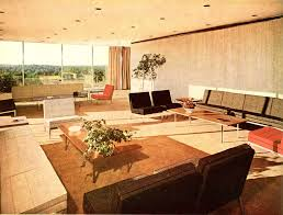 top glass table on carpet mid century modern living room green