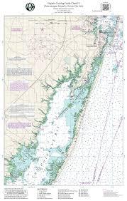 Chesapeake Bay Map Vachart 19 Chesapeake Bay Chincoteague Island To Ocean City Inlet