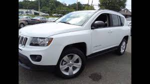 jeep station wagon 2016 2016 jeep compass bright white youtube