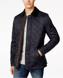 barbour fortnum quilted jacket in blue for men lyst