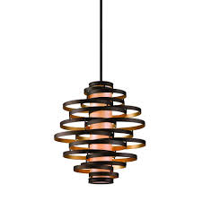 Modern Hanging Lights by Vertical Pendant Light With Inner Glass Cylinder Shade And Four