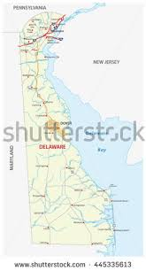 delaware road map usa delaware map stock images royalty free images vectors