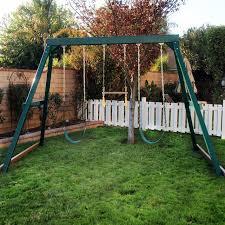 Backyard Swing Set Ideas Best Backyard Swing Sets Gogo Papa