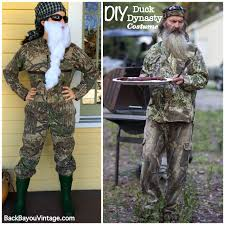 Duck Dynasty Halloween Costumes Diy Duck Dynasty Costume Bayou Vintage