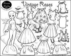 printable paper dolls paper dolls via stephanie corfee lil blue boo quiet books