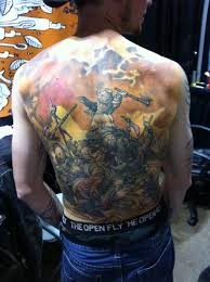 tattoo fantasy viking battle ideas tattoo designs