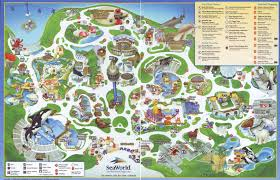 Map Of Harry Potter World by Theme Park Brochures Sea World San Diego Theme Park Brochures