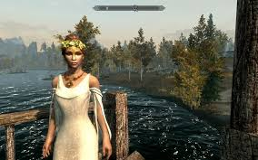 wedding dress skyrim skyrim wedding dresses mod