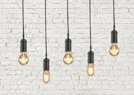 vintage industrial hanging pendant light fixture modern