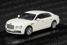 white bentley sedan kyosho 1 43 bentley flying spur w12 glacier white 05561gw diecast