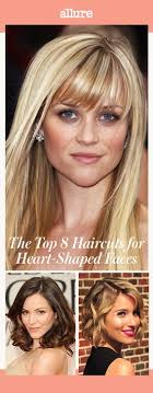 hairstyles for fat heart shaped faces the top 8 haircuts for heart shaped faces allure
