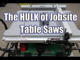 hitachi table saw price hitachi c10rj 10 jobsite table saw with 35 rip capacity and fold
