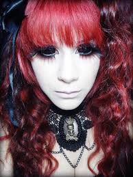 Halloween Costumes Red Hair Halloween Costume Black Sclera Contacts Halloween Colored