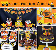 truck birthday party construction zone dump truck birthday party decorations