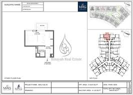 mag 5 boulevard studio apartment 365 sq ft floor plan
