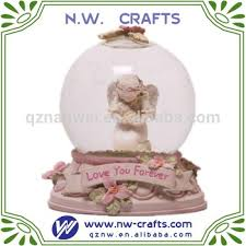 baptism snow globes you forever angel snow globe holding baby baptism souvenir