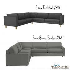 Sofa Bed Ikea Canada Furniture Comfortable Large Sofas Design Ideas With Karlstad Sofa