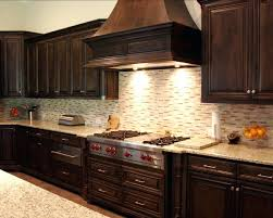 Staining Kitchen Cabinets Darker by Dark Stained Hickory Kitchen Cabinets Beautiful Dark Maple Kitchen