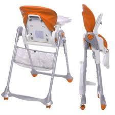chaise haute brevi b brevi chaise haute évolutive 2 en 1 b orange achat prix