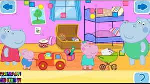 Cleaning The House by Peppa Pig Hippo Peppi Kids House Cleaning Clean The House With