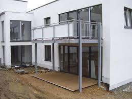 stahlbau balkone metall stahlbau kronenberg balkonanlagen