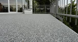 steinteppich balkon nie mehr fugen risse und frostschäden steinteppich balkon