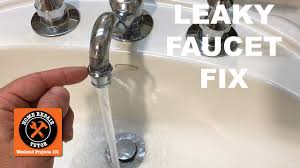how to stop a leaky faucet in the kitchen how to fix a leaky faucet spout leak in a bathroom by home