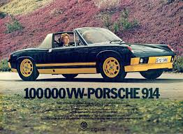 porsche 914 yellow the 1974 porsche 914 limited edition and 914 gt