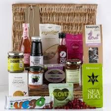vegan gift baskets 100 picked vegan hers yumbles