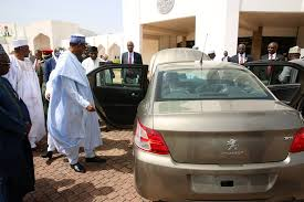 where is peugeot made made in nigeria peugeot cars inspected by president buhari see