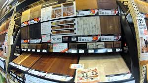 Home Depot Laminate Flooring Sale Laminate Flooring Display For Sale At Home Depot Youtube
