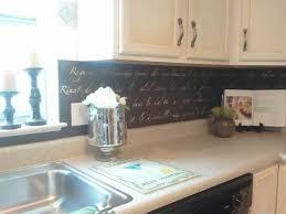 chalkboard kitchen backsplash 10 diy backsplash ideas which look great the diy