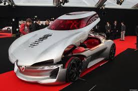 renault trezor interior photos à l u0027exposition concept cars au festival automobile
