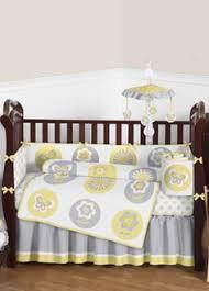 Yellow And Gray Crib Bedding Set Lavender Dragonfly Pillow Sham By Sweet Jojo Designs