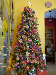 arbol de navidad con temática mexicana decoracionnavidad