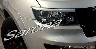 custom jeep tail light covers jeep grand cherokee suv sav crossover eyelids 2011 2013 98 00