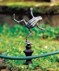 Outdoor And Garden Decor Giant Frog On A Swing Outdoor Decoration Garden Statuary Earth