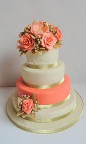 coral wedding cakes best 25 coral wedding cakes ideas on green big