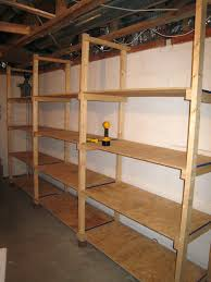 Wood Shelf Building Plans by Garage Shelves Build 5wood Storage Shelf Plans Wooden U2013 Moonfest Us