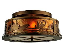 flush mount lantern light inspiring rustic ceiling fans flush mount lighting light fixtures
