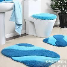 stylish design bathroom carpet sets coffee tables navy blue rug