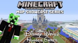 World Hunger Map by Ps3 Ps4 Minecraft Map Showcase Episode 106 Disney World Hunger