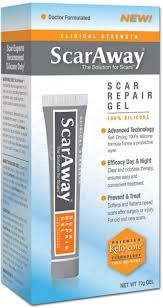 scaraway scar repair gel with patented kelo cote technology